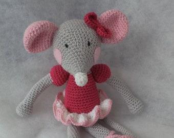 Sweet Mouse Amigurumi Free Crochet Patterns   270x340
