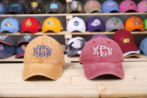 Custom Beach Hat Monogrammed Beach Hat Mongoram Beach Hats Etsy 8dd60d9f56de