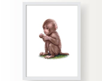 Schilderij babykamer etsy