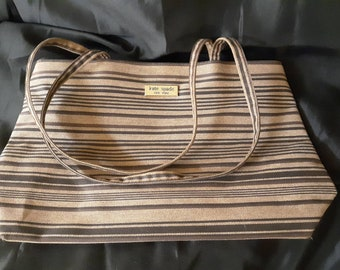 7ff01b46b Vintage 1990s kate spade canvas tote bag