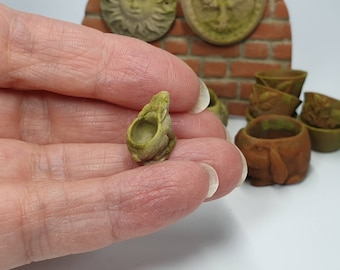 12th Scale Small Rabbit Plant Pot, Faux Terracotta or Stone