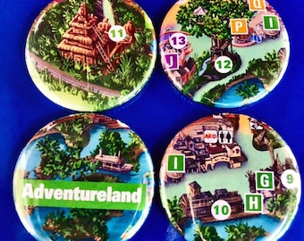 BOO TO YOU Mystery Bag Magnet Set Mickey/'s Not So Scary Halloween Party 1.25/'/' Disney Park Map Magnet Set Walt Disney World