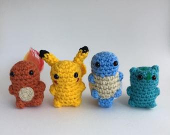 28 Crochet Pokémon Patterns - The Funky Stitch | 270x340
