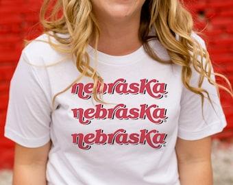69a0cbac Nebraska x3 Tee | Nebraska state t-shirt state pride tee nebraska tshirt  boutique nebraska apparel cute nebraska shirt