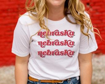dbdb067460fd6 Nebraska x3 Tee