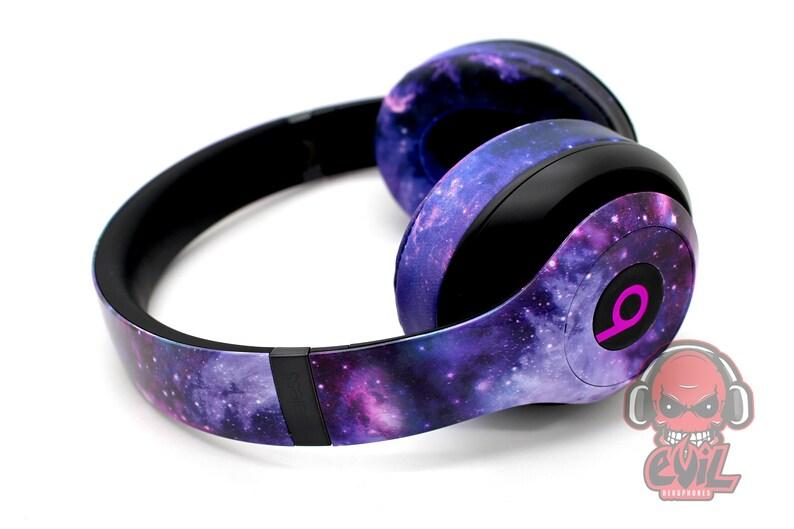 Beats By Dre Studio 3 Galaxy Headphones - Bluetooth Studio Headset -  Customizable Beats Gift for him - Studio 3 0 Wireless
