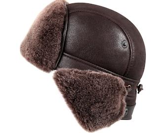 628238509 Shearling hat | Etsy