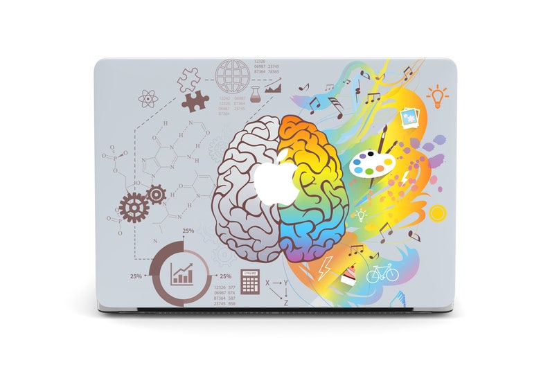 best loved 869a3 3bfad Science Macbook Case Brain Macbook Pro 15 2019 Case Macbook Air 13 Art  Creative Macbook Pro 13 Hard Case For Macbook Air 13 Inch 2018 YD0143