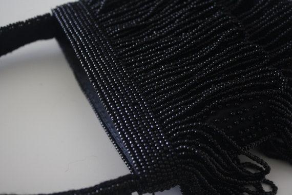 Beaded mini purse, beaded vintage purse, bead pur… - image 9