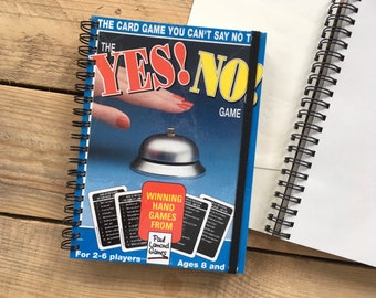 Yes! No! Game Box Notebook