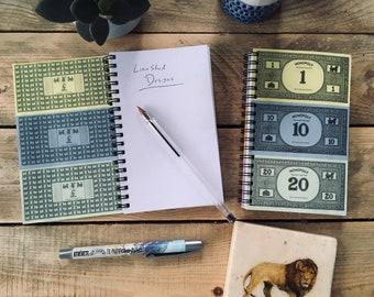 Monopoly Money Notebook