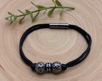Personalized Bracelet, Name Bracelet, Couples Bracelet, Personalized, Handmade, Gift for Him, Man Bracelet, Personalized gift