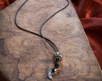 Black Necklace for Men, Sturdy Men's Necklace, Men's Necklace