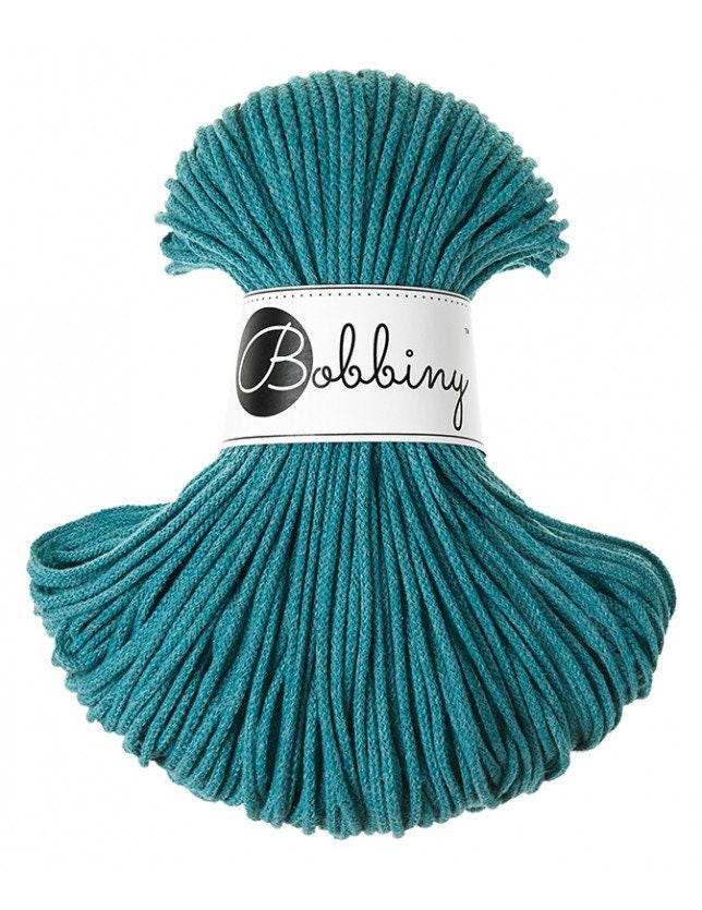 5 mm PEARL Cord cotton Multi Color 100m 100 m macrame Bobbiny macrame rope 108 yards chunky yarn yarn macrame