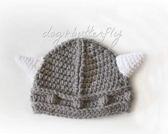 d517c25da Baby viking hat | Etsy