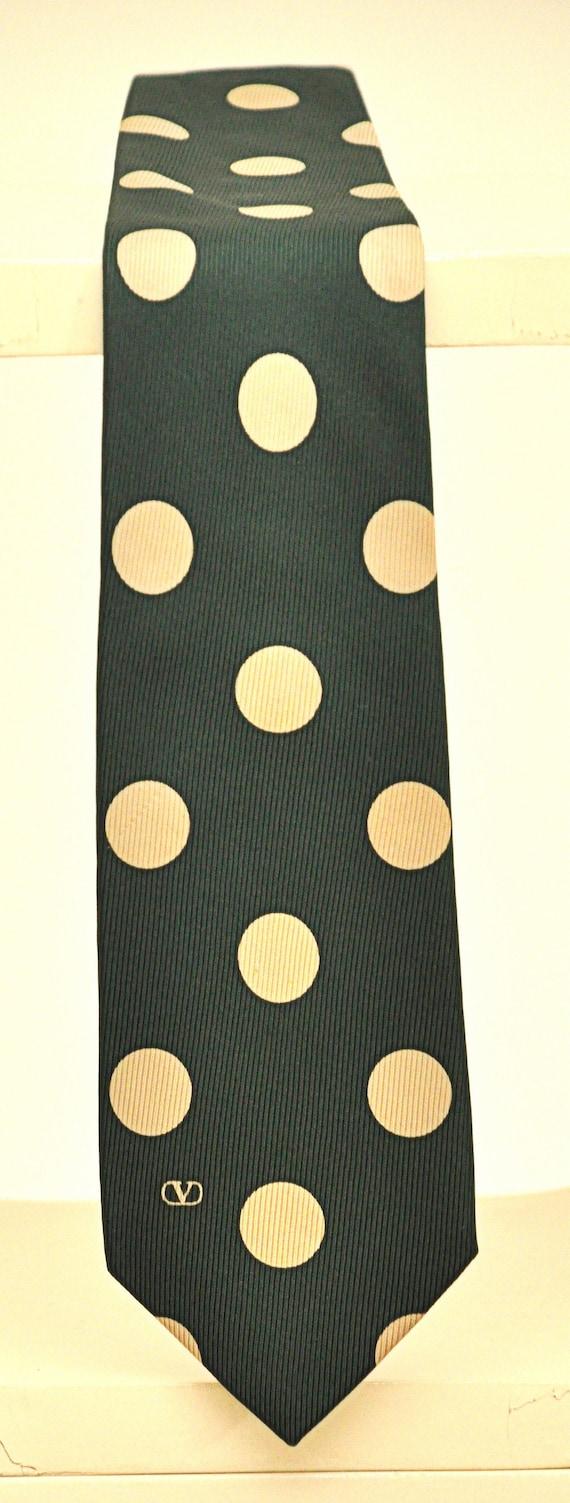 Valentino Tie Ties Rare Vintage 100% Pure Silk