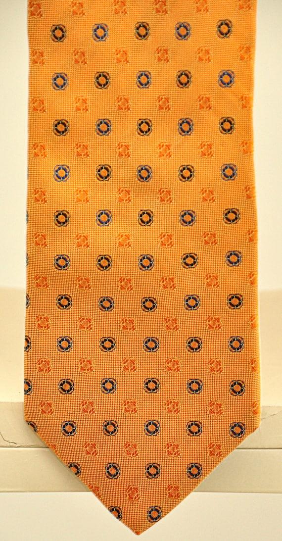 Les Copains rare vintage tie 100% pure silk