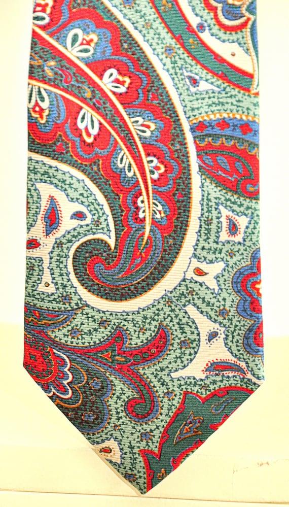 Byblos rare vintage tie 100% pure silk