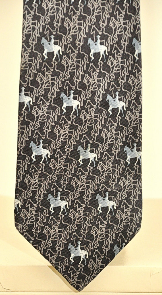 Loewe rare vintage tie 100% pure silk
