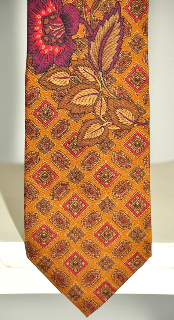 Kenzo Paris rare vintage tie 100% pure silk