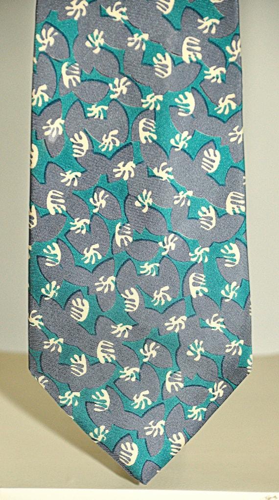 Cerruti 1881 rare vintage tie 100% silk