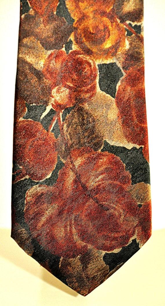 Renato Balestra rare vintage tie 100% pure silk