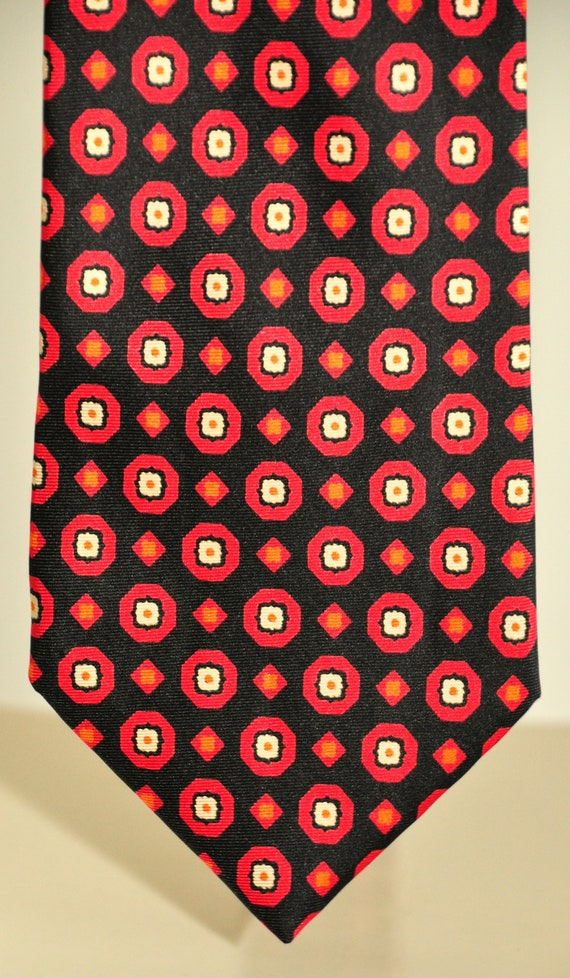 Pierre Balmain rare vintage tie 100% pure silk