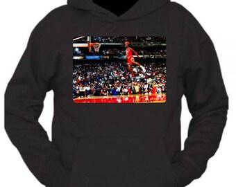 86532127e4a Michael Jordan dunk contest t-shirt 1988 free throw line dunk | Etsy