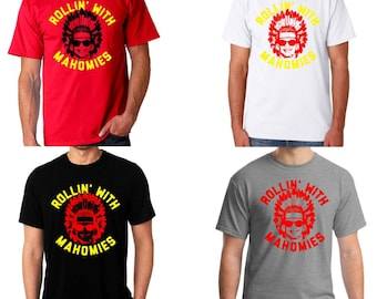 a56a921dabe Kansas City Chiefs t-shirt, Rolling with MAHOMIES t-shirt, Patrick Mahomes t -shirt