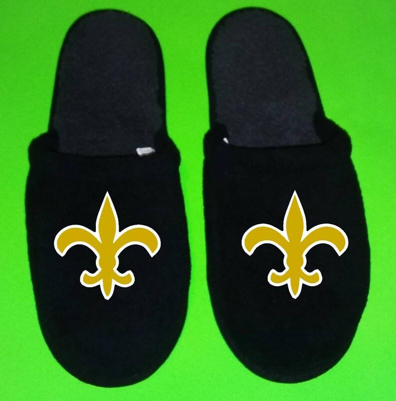 3e8a3e7d New Orleans Saints Men's Slippers / House Shoes sliders