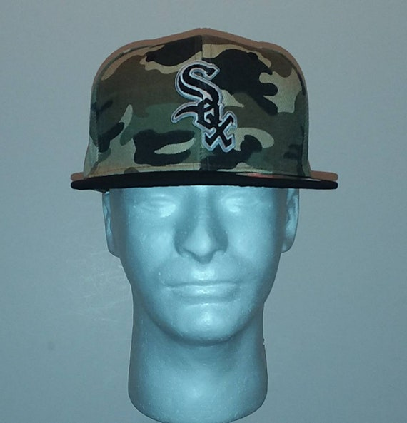 Chicago White Sox snapback hat camo  bd5cb09d614