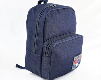 Hello Kitty Denim Backpack e7581e252f32d