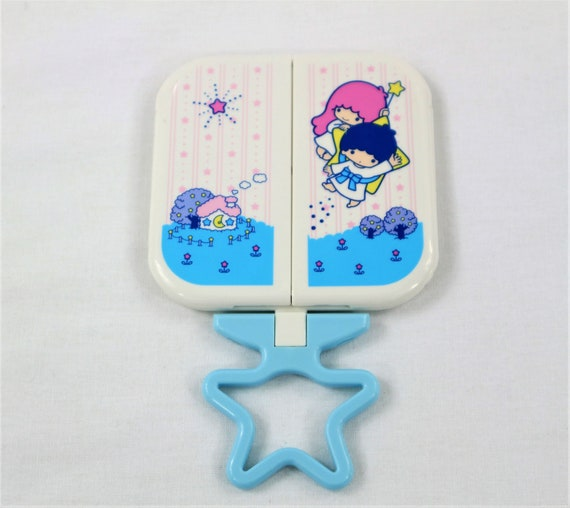 Little Twin Stars Folding Mirror with stand