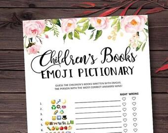 Thumbelina Floral Childrens Book Emoji Ga