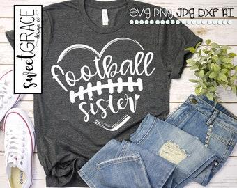 Football sister | Etsy