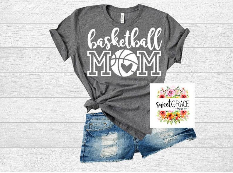dadbf38d Basketball Mom SVG Shirt Design. Basketball Mom T-Shirt | Etsy