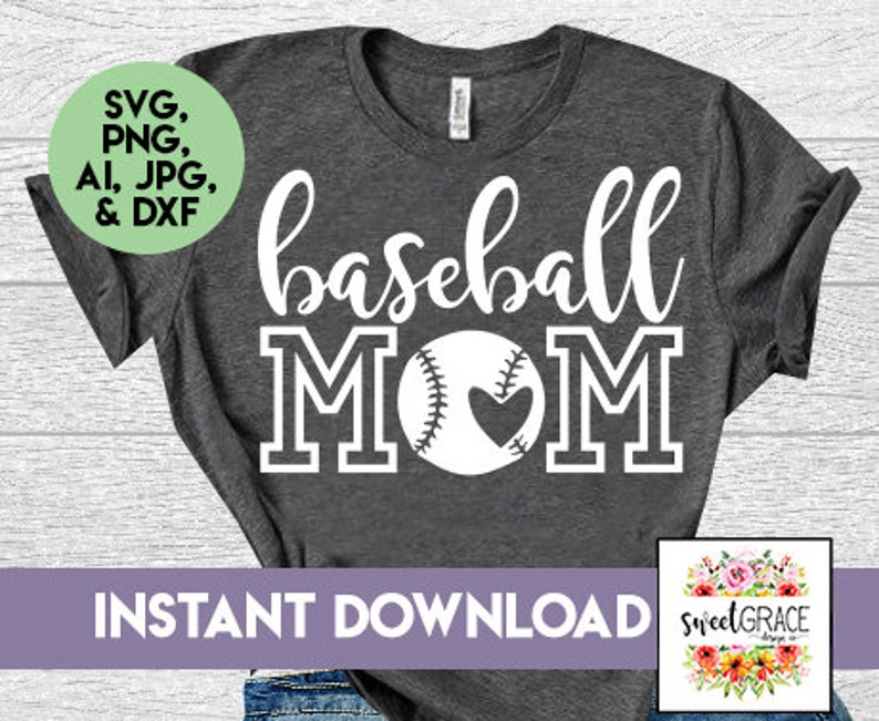 Baseball Shirts Designs | Baseball Mom Svg Baseball Svg Baseball Shirt Design Instant Etsy