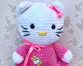 Amigurumi Hello Kitty Etsy