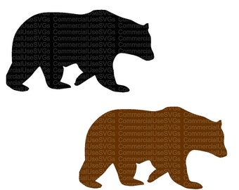 bear template etsy