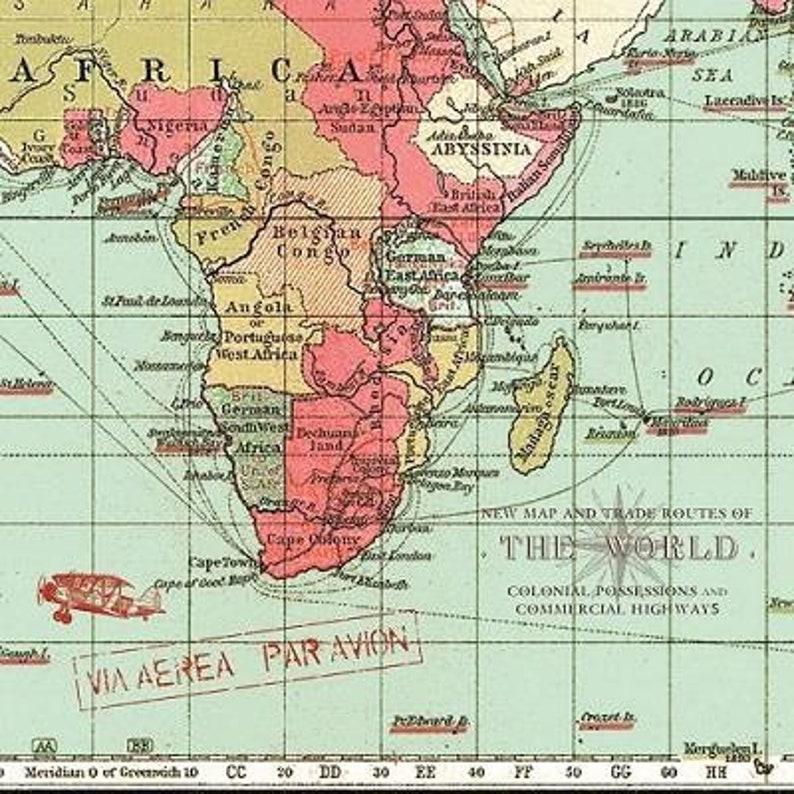 4 World Map Paper Napkins For Decoupage Map Of The Ocean Paper Napkins  Vintage Sea Map Paper Serviette Nautica Paper Napkins Blue Decoupage