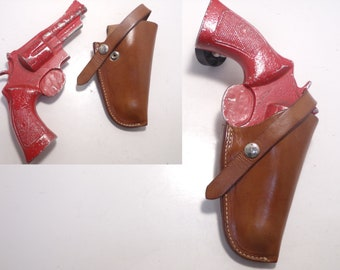69c1f531f656 Model 120 Vintage LAWRENCE (Since 1857) Gun Holster for Smith and Wesson  S W .357 .41 .44 .45 N Frame 20 22 23 24 25 27 28 57 58 625 627 4