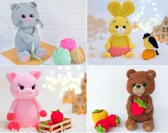 Baby Dragon Crochet Toy [FREE Amigurumi Pattern+Tutorial] | 270x340