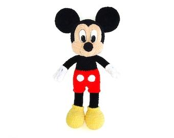 Mickey Mouse Crochet Etsy