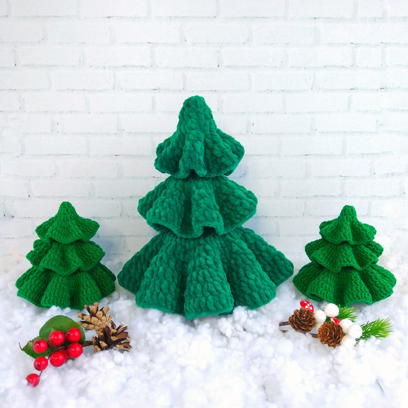 Amigurumi Christmas Tree Pattern Crochet Christmas Xmas Etsy