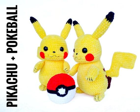 PIKACHU CROCHET PATTERN - Detective Pikachu Amigurumi Pdf pattern ... | 456x570