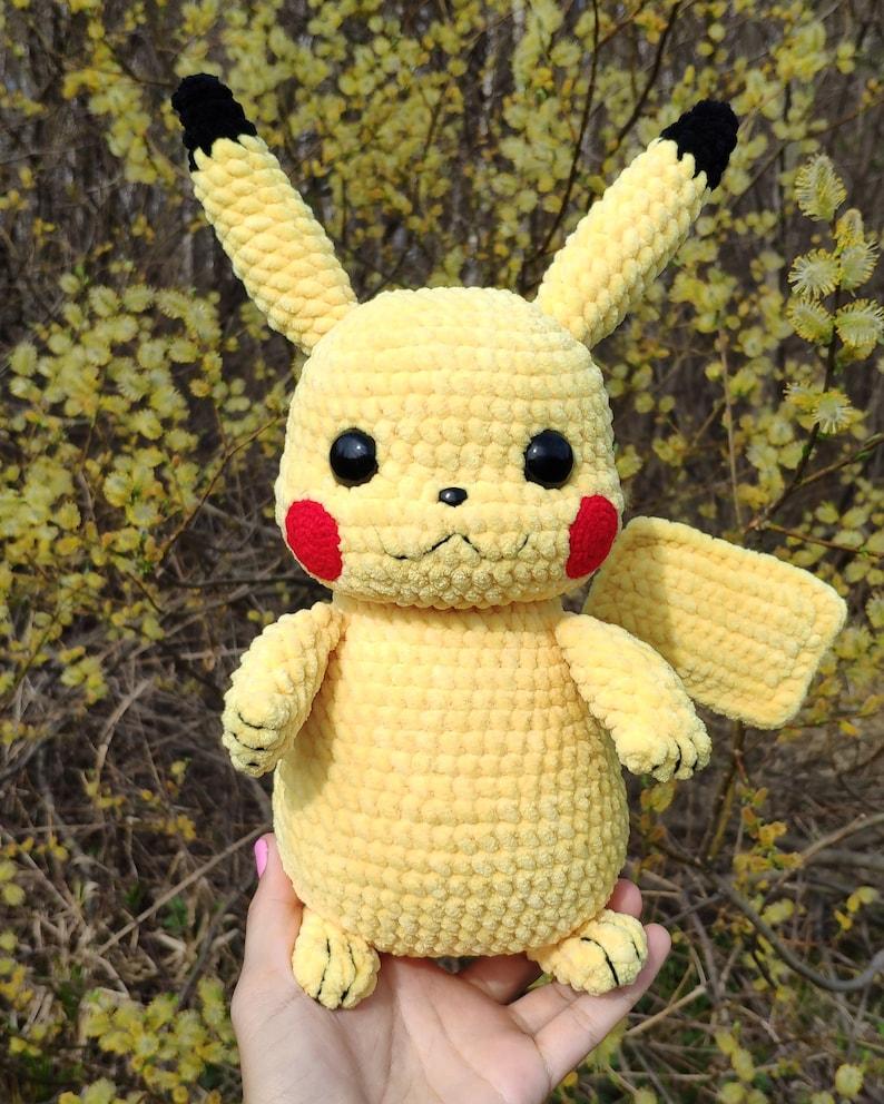 PIKACHU CROCHET PATTERN Detective Pikachu Amigurumi Pdf | Etsy