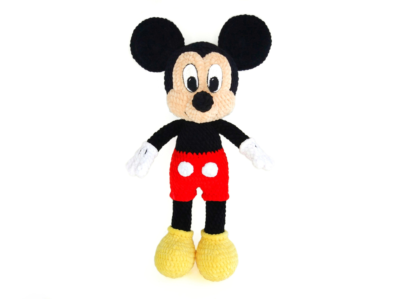 Mickey Mouse Crochet pattern Amigurumi toy PDF pattern   Etsy