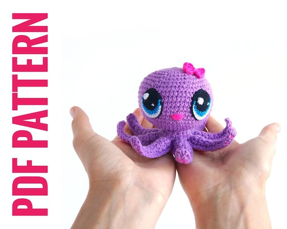 How to Make Crochet Anime Eyes - Knot Bad | 455x570