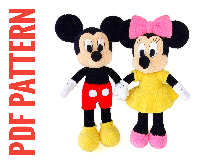 Mickey Mouse Amigurumi | Crochet Amino | 2402x3000
