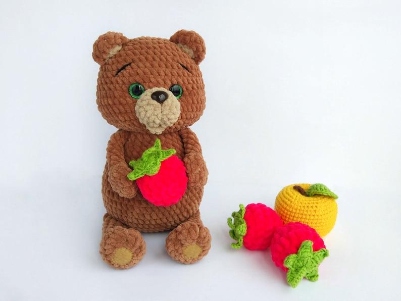 020d35ae136 CROCHET BEAR PATTERN Teddy Amigurumi toy Pdf pattern